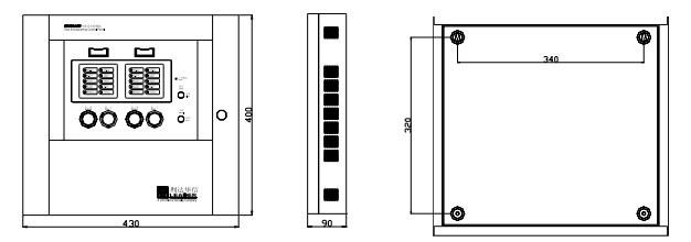 利达ld5501en-1气体灭火控制盘
