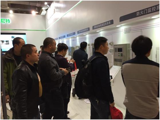 尼特亮相上海国际消防展 产品体验获一致好评
