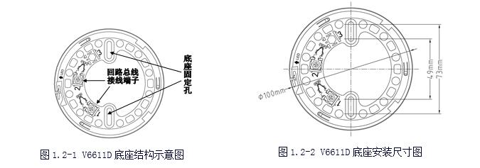 福赛尔v6611d型探测器底座
