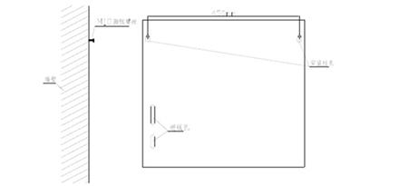 GST-DY-200A智能网络电源箱安装示意图