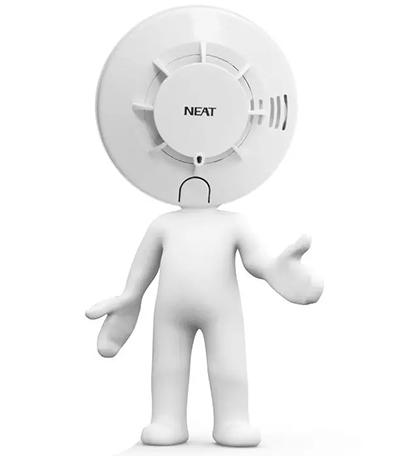 尼特JTY-GF-NT8117独立式光电感烟火灾探测报警器